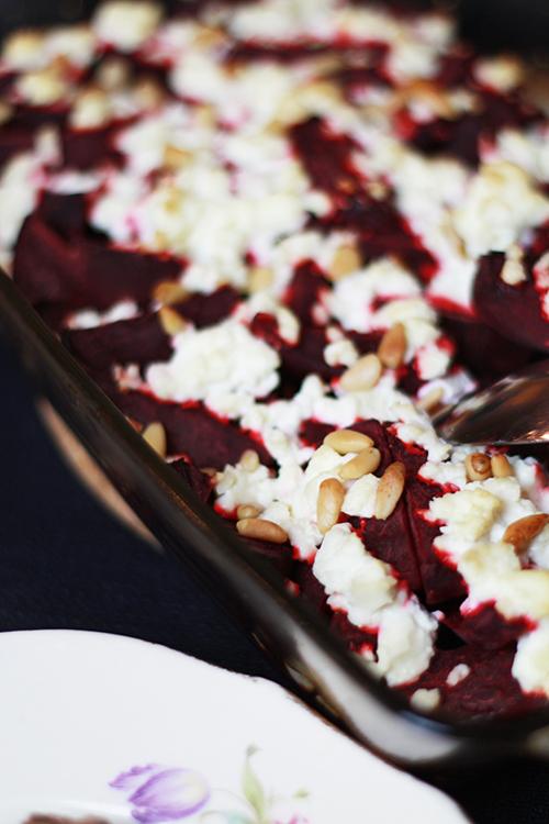 recept rödbetor fetaost ugn