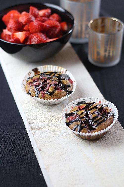 jordgubbsmuffins